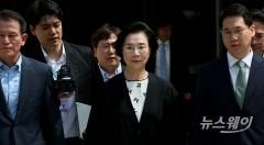 '폭행혐의' 이명희 고문, 2년6개월 구형···선고공판 7월14일