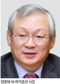 정영채 NH투자증권 사장, 15억6천만원