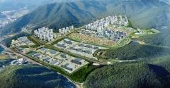 부영 부산·진해경제자유구역 도동택지 부지조성 완료