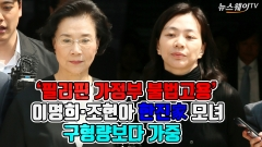 [뉴스웨이TV]'가사도우미 불법고용' 이명희·조현아 집행유예