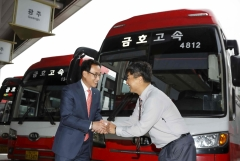 금호고속, '2019 한국서비스대상' 종합대상 수상