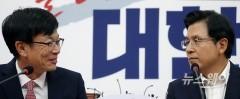 김상조 청와대 정책실장 자유한국당 예방