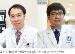 아주대병원 노오규·허재성 교수팀, 전립선암 진단 전후 약 10% '우울·불안장애' 등 경험