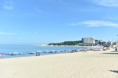 장맛비 오락가락…전국 해수욕장·관광지 한산