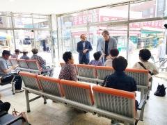 정읍시, 샘고을 시장 승강장 시설 개선