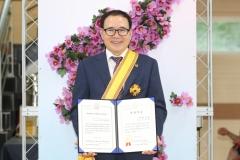 이용범 인천시의회의장, 한국자유총연맹 '자유장' 수상