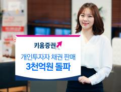 키움증권, 개인투자자 채권판매 3000억원 돌파
