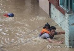 네팔·인도에 계절성 폭우로 '물난리'…사상자 속출까지
