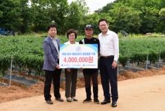 인천시설공단, 폭염 대비 자활근로자 냉방용품 지원