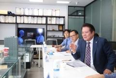 최대호 안양시장,민선7기 1주년 '기업체 탐방 소통행보'