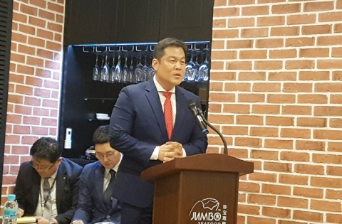 """싱가포르 맛집 '점보씨푸드' 상륙…디딤 """"1년 반여간 결실"""""""