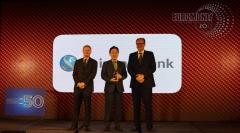 신한은행, 유로머니 선정 '대한민국 최우수 은행' 수상