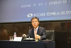 """이대현 KDB인베스트 대표 """"대우건설, 당장 매각 계획 없다…기업가치가 우선""""(종합)"""