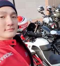 모델 출신 배우 예학영, 이번엔 오토바이 음주…'0.048%로 면허정지 수준'