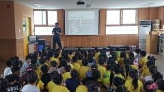 천안동남경찰서, 어린이 교통안전 예방교육 진행