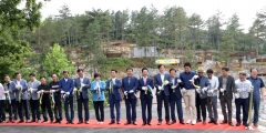 영암국민여가 캠핑장…감성 캠핑족 '인기'