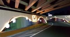경주시, 보문교 지하통로 및 벽면 경관개선