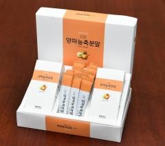 경북도, 전국최초 '스틱형 양파 농축분말제품' 출시