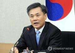 """김승호 실장, """"수출 규제는 정치보복""""···日 면담 거절"""