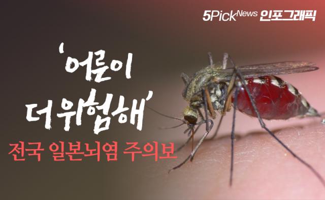 [인포그래픽 뉴스]'어른이 더 위험해' 전국 일본뇌염 주의보