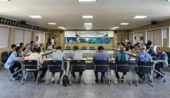 한국어촌어항공단, 통영시 어촌뉴딜 300 전문가 현장자문 및 지역협의체 회의 개최