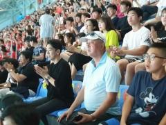인천항만공사, 수영 꿈나무들과 광주세계수영선수권대회 응원
