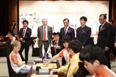 여승주 한화생명 사장, 세계 어린이 국수전 첫 참석