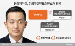 한화, 태양광 사업 적극 민다···한화케미칼-큐셀앤드첨단소재 합병