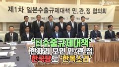 '日 수출규제대책' 한자리 모인 민·관·정…한국당도 '한목소리'
