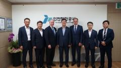 인천항만공사, 美 LA항과 항만발전 논의...상호교류 확대