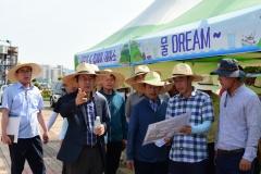 김종식 목포시장, 주말에도 '섬의 날' 행사 현장 점검