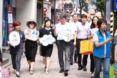 한국에너지공단, 프랜차이즈 본사 대상 '문 닫고 냉방영업' 협조 요청