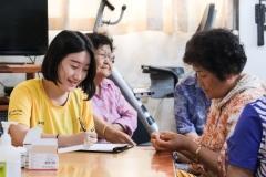 경북과학대, 농촌에서 재능 나눔 봉사 '구슬땀'