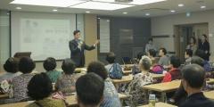 김상돈 의왕시장, 의왕시니어클럽 일자리교육 참석