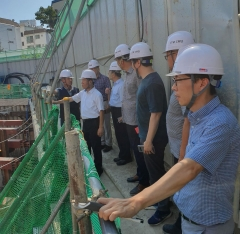 안양시, 건설공사현장 6곳 안전관리실태 점검