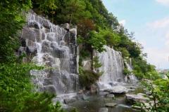 용인시, 우연히 발견한 지하수로 분수 '무료' 가동