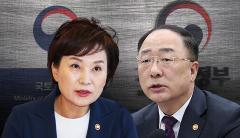 22번째는 '부동산 세제대책'인데도···'홍남기' 패싱?