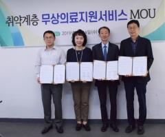 한국사회복지공제회, 취약계층 무상의료지원서비스 업무협약 체결