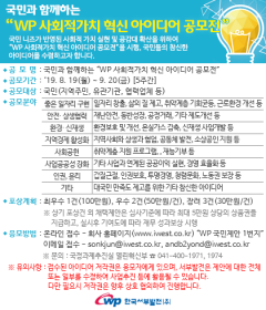 서부발전, `국민과 함께하는 WP 사회적 가치 혁신 아이디어 공모전` 개최