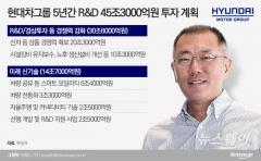 R&D에 꽂힌 정의선, 미래車 개발 强드라이브
