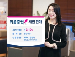 키움증권, 한진 채권 판매…세전 연 3.1%