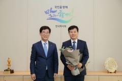 한국마사회 남자 탁구팀, 대통령기 전국 시도탁구대회서 창단 첫 승 쾌거