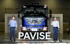 현대차, 준대형 트럭 '파비스' 공개…고객 요구 반영한 상용차