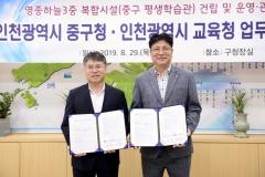 인천시교육청, 신설 중학교 부지에 평생학습관도 건립
