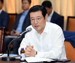 이용섭 광주광역시장, 시 산하 공공기관장 회의 주재