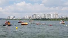 의왕도시공사, '장애인 수영대회' 수상인명구조원 파견 지원