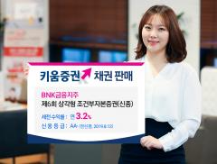 키움증권, BNK금융지주 신종자본증권 세전 연 3.2%로 판매