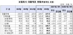 6월 보험사 대출채권 227조원···약관대출 1년새 3조 증가