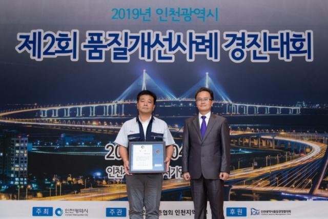 `제2회 2019년 인천시 품질개선사례 경진대회` 개최