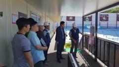한세원 인천 미추홀구 부구청장, 주요시설 사업현장 방문